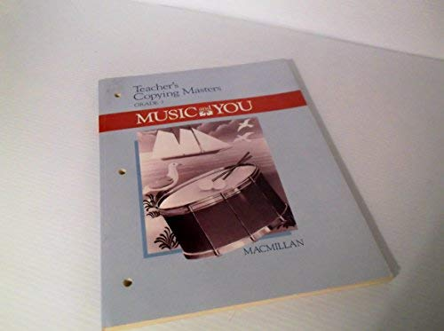9780022941901: Music and You: Teacher's Copying Masters, Grade 3