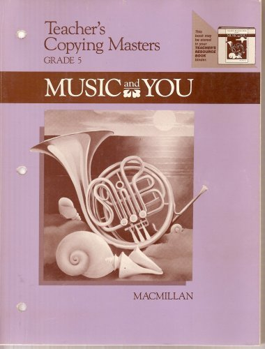 9780022942106: Music and You Grade 5 (Teacher's Copying Masters)