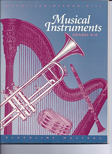 9780022944803: Musical Instruments: Blackline Masters, Grades K-8: Share the Music