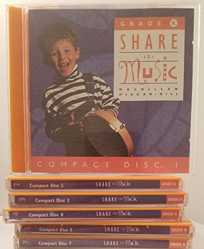 9780022950705: Kinder Cds Share the Music: Grade K