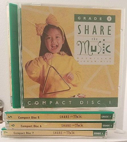9780022950712: Share the Music -Grade 1 CDs
