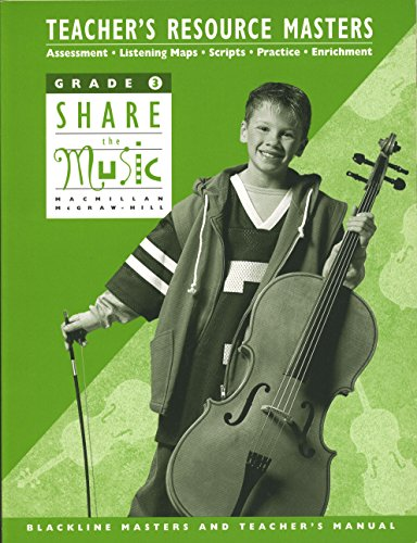 9780022950880: Teacher's Resource Masters (Grade 3 Share The Music)