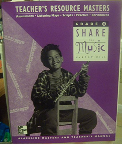 9780022950897: Share the Music Grade 4: Teacher's Resource Masters