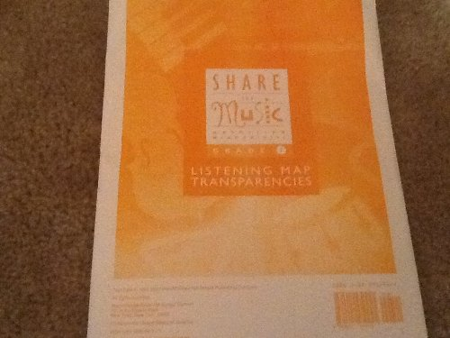 9780022950941: Share the Music, Grade 1: Listening Map Transparencies