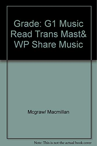 9780022951122: Music Reading Transparency Masters and Worksheets: Grade One