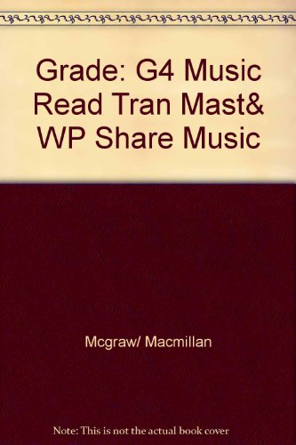 9780022951153: Music Reading Transparency Masters and Worksheets (Grade 4)