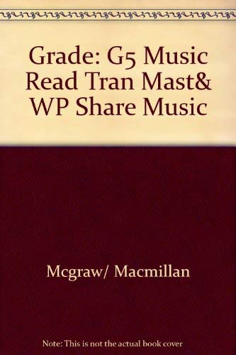 9780022951160: Music Reading Transparency Masters and Worksheets (Grade 5)