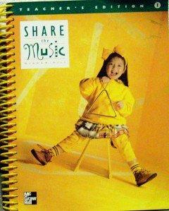 9780022952792: Share The Music Teacher's Edition, Grade 1