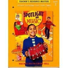 9780022954246: Share the Music: Teacher's Resouce Masters, Grade 2