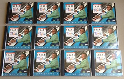 9780022954413: Glencoe: Share The Music, Grade 6 - AUDIO COMPACT DISC SET