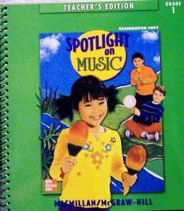 9780022956929: SpotLight On Music, Teacher's Edition, Grade 1
