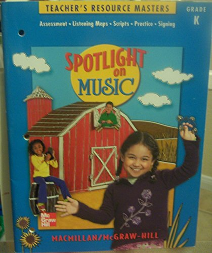 9780022958305: Teacher's Resource Masters (Spotlight on Music, Kindergarten)