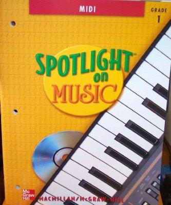 9780022958428: MIDI, Grade 1, with CD-Rom (Spotlight on Music)