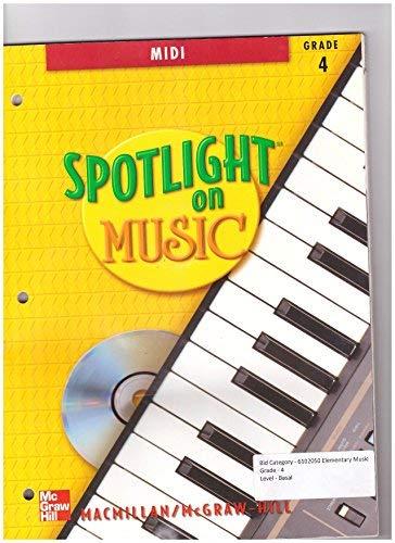 9780022958459: Spotlight on Music, Grade 4 - MIDI (with CD-ROM)