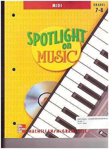 9780022958480: Spotlight on Music, Grades 7-8 - MIDI (with CD-ROM)