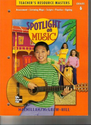 Spotlight on Music: Teacher's Resource Masters, Grade: Zemke, Sr. Lorna