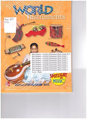 9780022959555: Mcgraw-hill World Instruments Spotlight on Music cd-rom