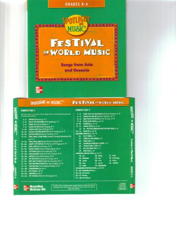 9780022959951: Festival of World Music: Songs from Asia and Oceania (Grades K-6) 2 CD set
