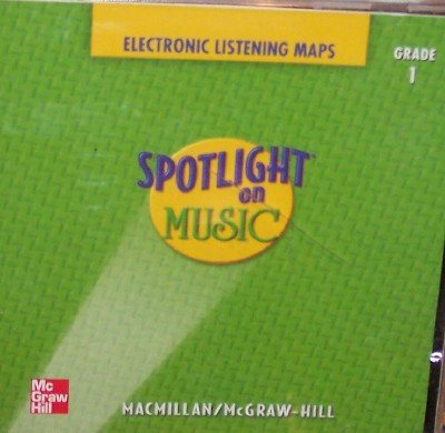 9780022961992: Electronic Listening Maps Cd, Grade 1 (Spotlight On Music)
