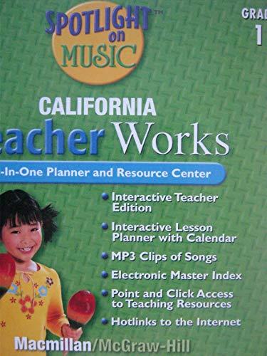 9780022964023: Spotlight on Music CA TeacherWorks CD Grade 1