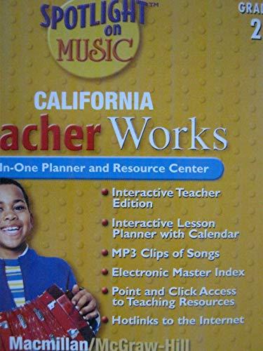 9780022964030: Spotlight on Music CA TeacherWorks CD Grade 2