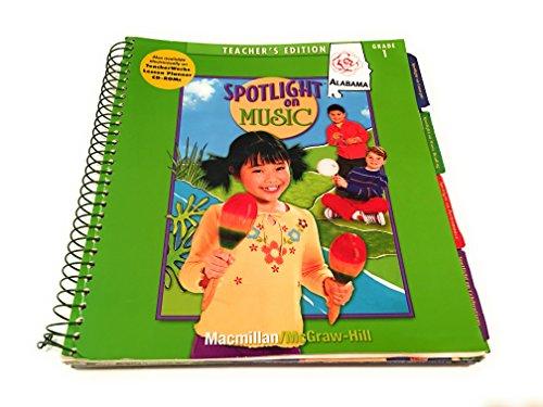 9780022964498: Spotlight on Music-teachers edition (grade 1)