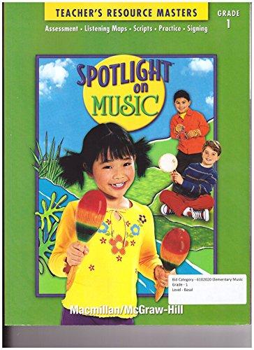 9780022967192: Macmillan Mcgraw Hill Spotlight on Music Grade 1 Teacher's Resource Masters