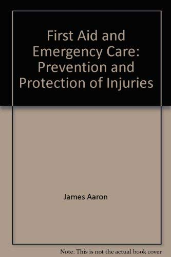 9780023000607: First Aid and Emergency Care