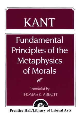 9780023001406: Kant: Fundamental Principles of the Metaphysics of Morals