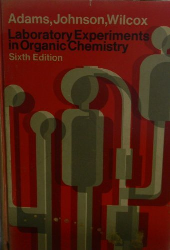 9780023005800: Laboratory Experiments in Organic Chemistry