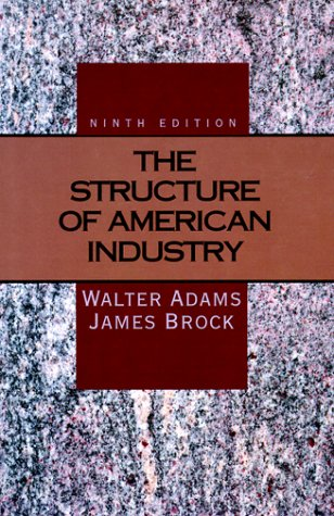 9780023008337: The Structure of American Industry