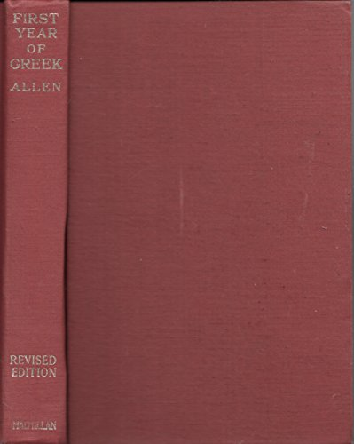 9780023017506: First Year of Greek