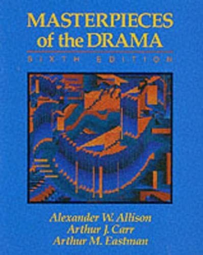9780023019753: Masterpieces of the Drama