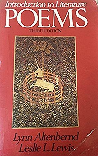 Introduction to Literature : Poems: Leslie L. Lewis;