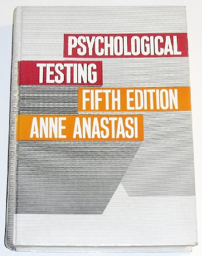 9780023029608: Psychological testing