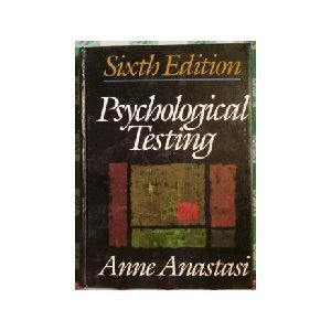 9780023030208: Psychological Testing