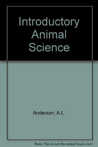 9780023031809: Introductory Animal Science