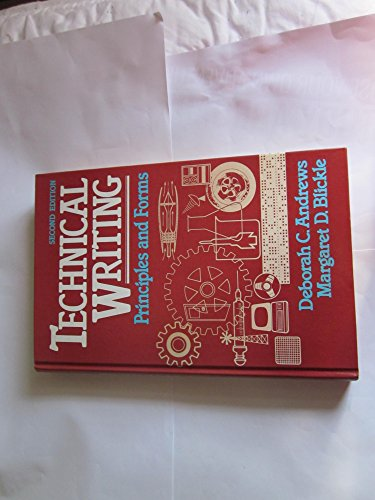 9780023034701: Technical Writing Principles and Forms
