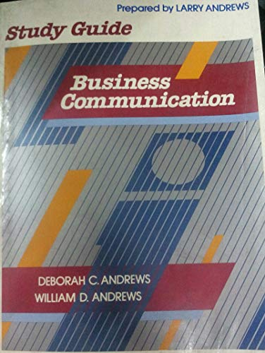 9780023035500: Business communication: Study guide