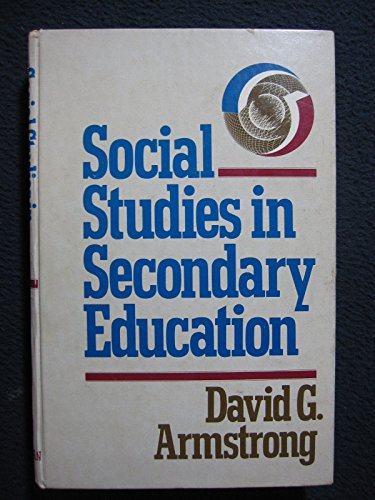 9780023039805: Social Studies in Secondary Education