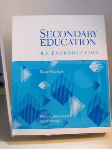 9780023040931: Secondary Education: An Introduction