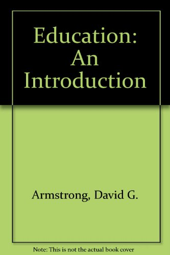 9780023041518: Education: An Introduction