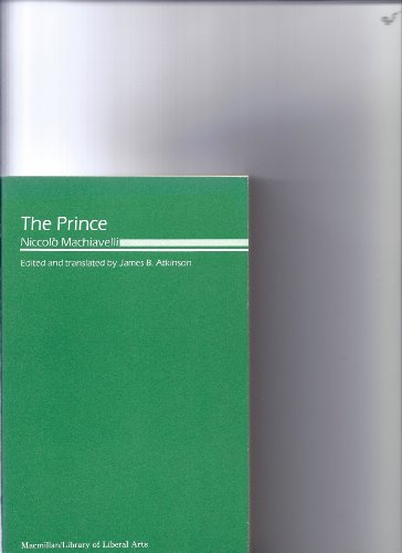 9780023042706: Prince MacHiavelli