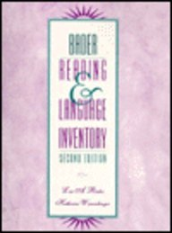 9780023051111: Bader Reading and Language Inventory