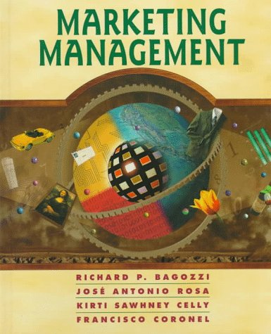 Marketing Management: Bagozzi, Richard P.,