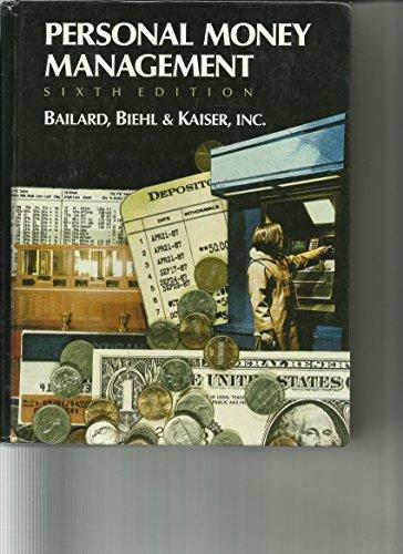 9780023052507: Personal Money Management