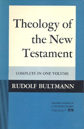 9780023055805: Theology of the New Testament: Complete in One Volume