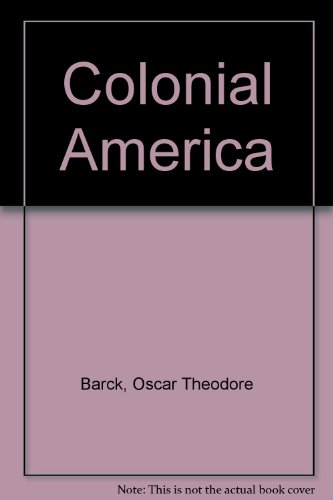 9780023058905: Colonial America
