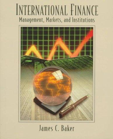 9780023058912: International Finance: Management, Markets, and Institutions