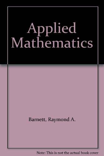 9780023065040: Applied Mathematics